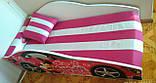 Кровать машинка Леди Пинк машина серии Элит Minnie Бесплатная доставка, фото 3