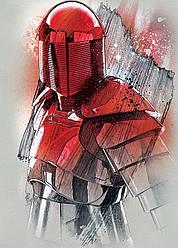Картина GeekLand Star Wars Звёздные воиныкрасный штурмовик40х60см SW.09.002