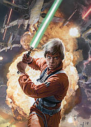Картина GeekLand Star Wars Звёздные Люк Скайуокер 40х60см SW.09.032