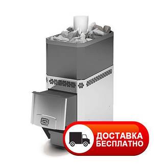 Печь-каменка для русской бани Русь 18 ЛНЗП профи, фото 2