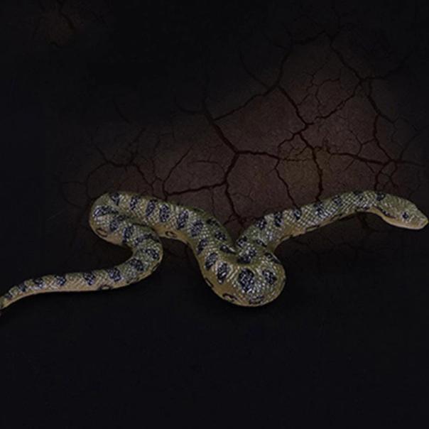 Реалистичная резиновая змея для розыгрышей! Поддельная змея из резины с реалистичным внешним видом!