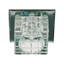 Встраиваемый светильник Feron JD106 прозрачный MAX35W