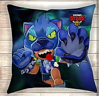 Подушка Leon Werewolf Brawl Stars