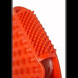 Рукавиця 3в1 масажна антицелюлітна з металевими кульками силіконова Roller Ball, фото 9