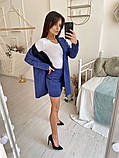 Женский костюм тройка / замш на дайвинге, вискоза / Украина 46-319, фото 3