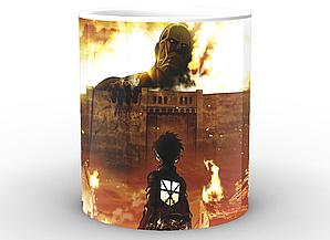Кружка Geek Land Attack on Titan Атака Титанов в огне AT.02.01