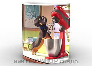 Кружка Тайная жизнь домашних животных Бадди