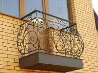 Балконы из кованого металла