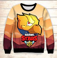 Світшот 3D Gold Crow Brawl Stars, фото 1
