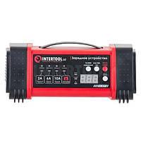 Зарядное устройство 12/24В, 2/6/10А, 2/6A, 230В, дисплей INTERTOOL AT-3019