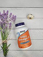 NOW Омега 3 Ultra Omega 3 90 softgels