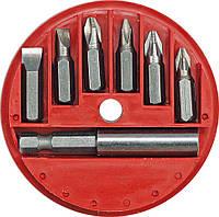 Набор 6 бит с магнитным адаптером Vorel 66080