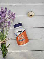 NOW Foods Омега 3 Tri-3D Omega-3 90 softgels омега 3 витамин Д3