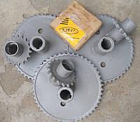 Комплект звездочек ПСП-10 для уменьшения оборотов барабана СК-5 Нива 54-151В-01 (z-19 и z-49,t-25,4)