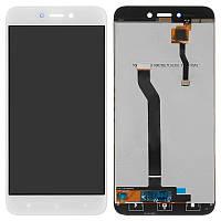 Дисплейный модуль LCD Xiaomi Redmi 5a + touch White Original