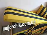 Кровать машинка Ламборгини машина серии Элит Ламборджини желтая Lamborghini с матрасом и бесплатной доставкой, фото 4