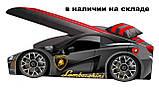 Кровать машинка Ламборгини машина серии Элит Ламборджини желтая Lamborghini с матрасом и бесплатной доставкой, фото 6