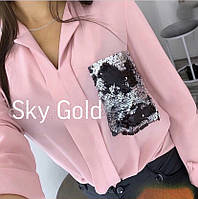 Блузка жіноча норма і ботал СК109, фото 1