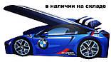 Кровать машинка Ламборгини машина серии Элит Ламборджини желтая Lamborghini с матрасом и бесплатной доставкой, фото 8