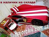 Кровать машинка Ламборгини машина серии Элит Ламборджини желтая Lamborghini с матрасом и бесплатной доставкой, фото 7
