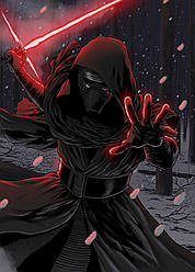 Картина GeekLand Star Wars Звёздные Кайло Рен 40х60см SW.09.046