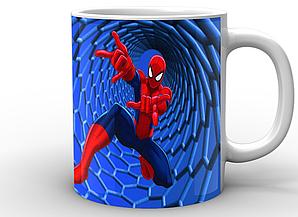 Кружка GeekLand Человек-Паук Спайдермен Spider-Man мультфильм SM.02.018