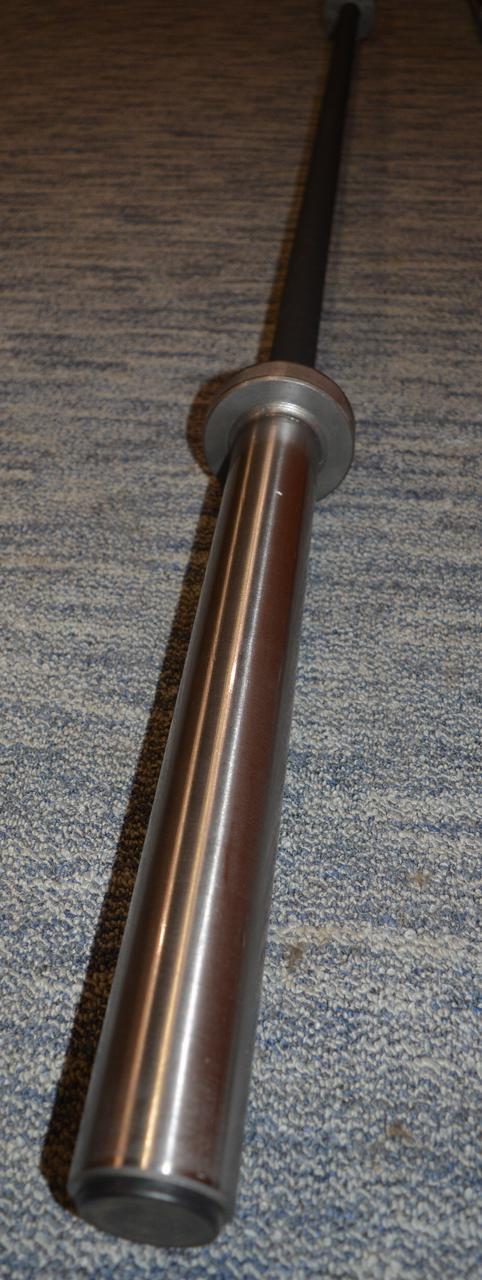 Гриф для штанги MALCHENKO 2.2м прямой, 20 кг, Ø 50 мм