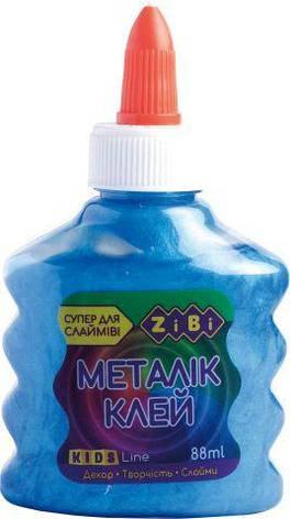 Клей МЕТАЛЛИК синий на PVA-основе, 88 мл, фото 2