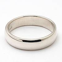 Серебряное обручальное кольцо 74КЮ