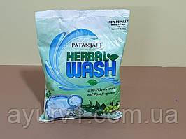 Натуральний гіпоалергенний пральний порошок з Німом і Трояндою Патанджалі, 1 кг