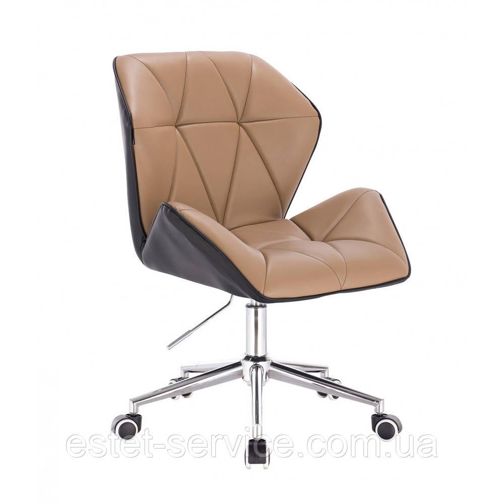 Кресло мастера HR212 на колесах в ЦВЕТАХ кожзам
