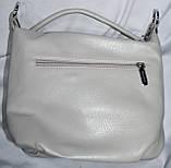 Женские маленькие сумочки, клатчи на молнии 24*21 см (серая), фото 2
