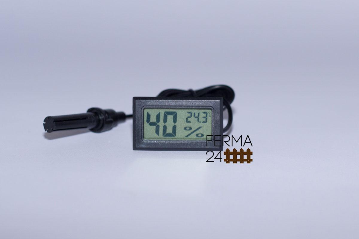 Гигрометр-Термометр (Влагомер) цифровой, измеритель температуры и влажности в инкубаторе