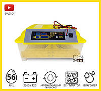 Інкубатор автоматичний HHD 56(12v), фото 1