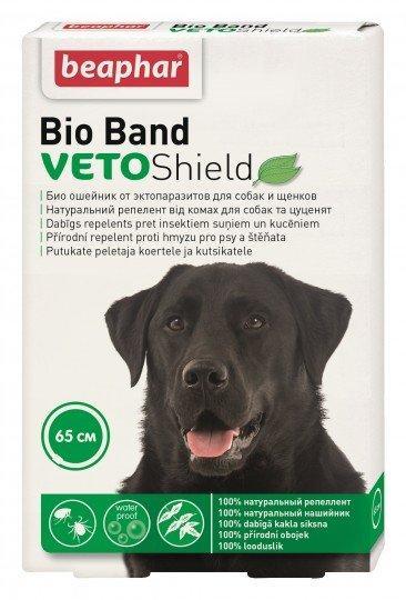 Ошейник Beaphar VETO Shield Bio Band для собак и щенков с 2-х месяцев 65 см.
