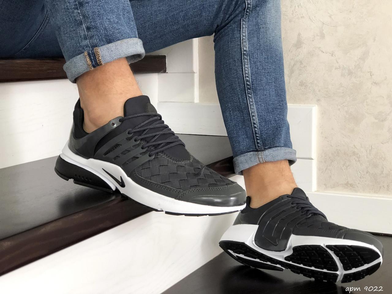 Мужские кроссовки Nike Air Presto TP QS (темно-серые) 9022