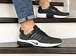 Мужские кроссовки Nike Air Presto TP QS (темно-серые) 9022, фото 2