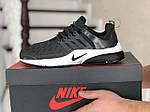 Мужские кроссовки Nike Air Presto TP QS (темно-серые) 9022, фото 3