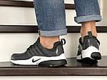 Мужские кроссовки Nike Air Presto TP QS (темно-серые) 9022, фото 4