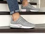 Мужские кроссовки Nike Air Presto TP QS (серые) 9023, фото 2
