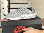Мужские кроссовки Nike Air Presto TP QS (серые) 9023, фото 3