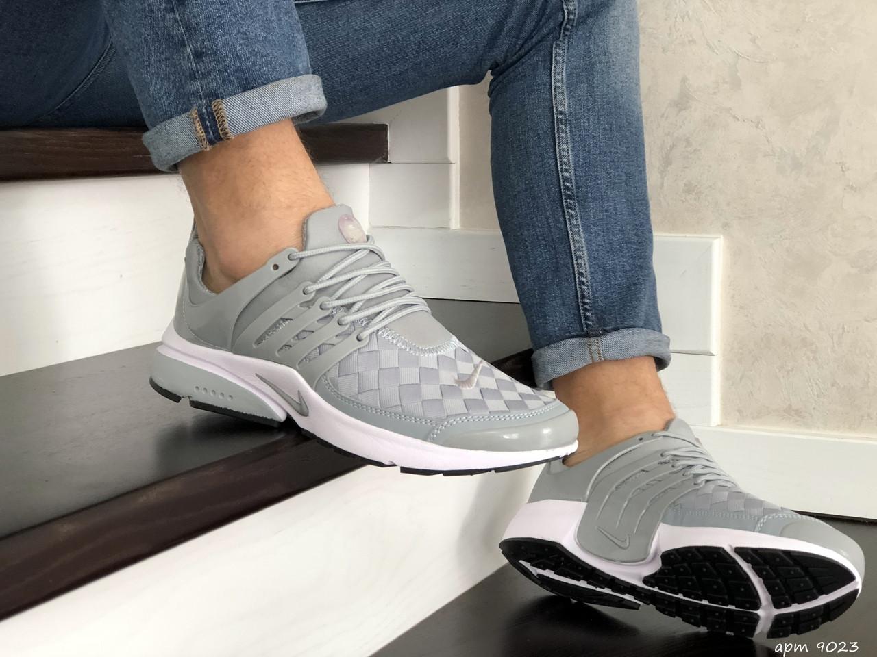 Мужские кроссовки Nike Air Presto TP QS (серые) 9023