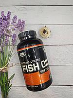 Омега Optimum Nutrition Enteric Coated Fish Oil 200 caps рыбий жир рыбный жир omega 3