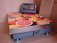 Электронные платформенные  весы OXI-300 кг усиленные расширенные 600*450мм