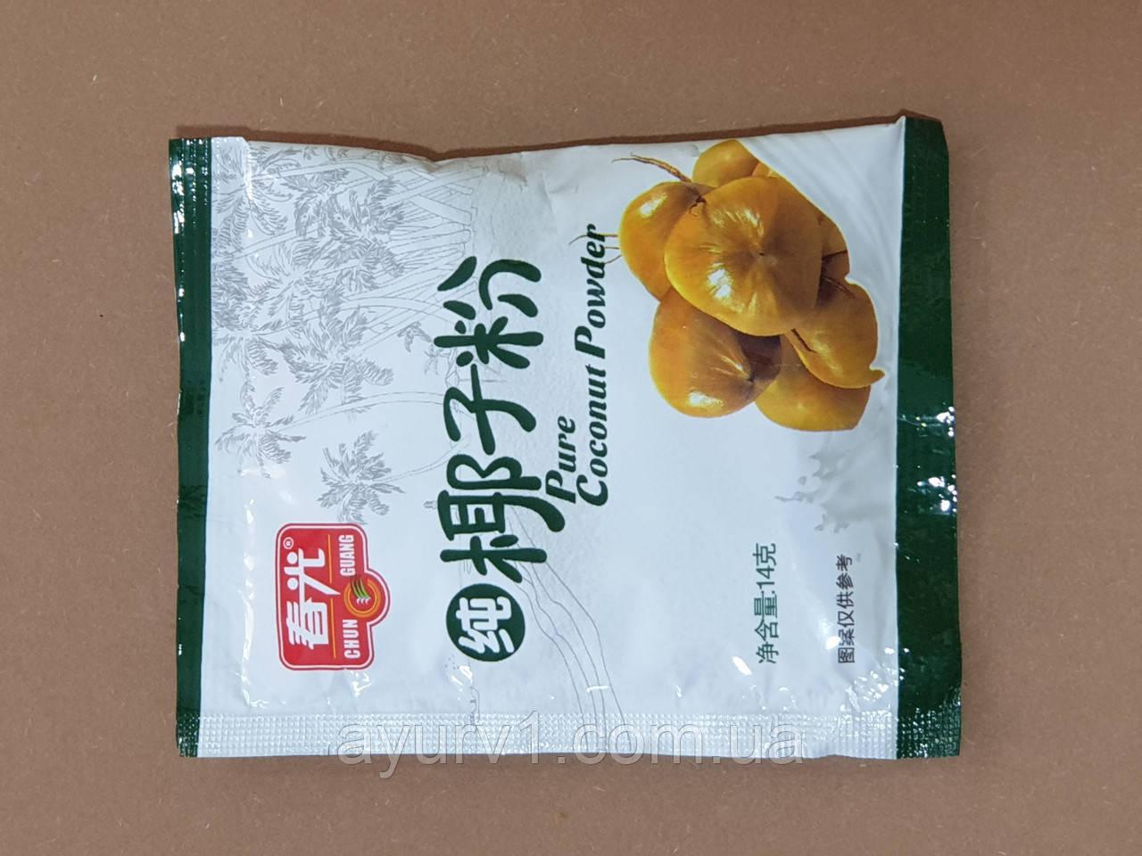 Сухое кокосовое молоко 100 % НАТУРАЛЬНОЕ / Pure / Coconut Powder / 14 г.