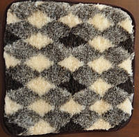 Накидка на табурет из натуральной овчины, фото 1
