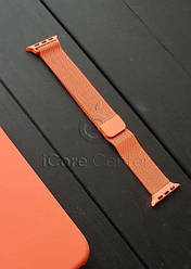 Ремешок Milanese Loop for Apple Watch 38 / 40mm Orange