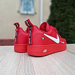 Женские кроссовки Nike Air Force 1 LV8 (красные) 2995, фото 3