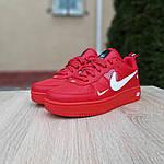 Женские кроссовки Nike Air Force 1 LV8 (красные) 2995, фото 4