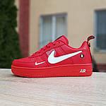 Женские кроссовки Nike Air Force 1 LV8 (красные) 2995, фото 5